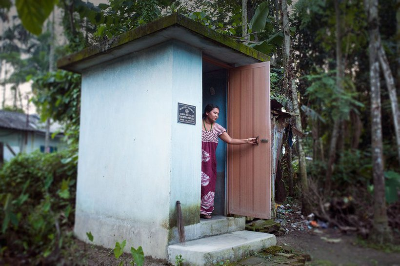 Flushing Out Disease, Building Dignity